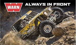 Winners of the toughest off-road race on the planet choose WARN winches