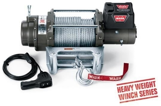 Picture of WARN 12000LB (5400KG) 24V WINCH WITH ST CABLE