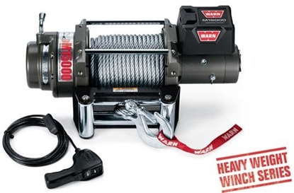 Picture of WARN 15000LB (6800KG) 12V WINCH WITH ST CABLE