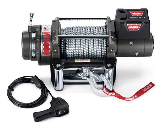 Picture of WARN 15000LB (6800KG) 24V WINCH WITH ST CABLE
