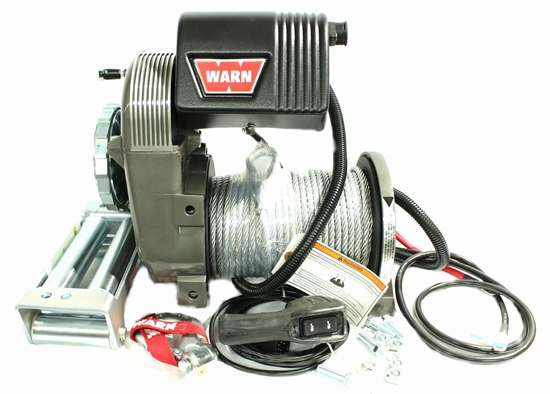 Picture of WARN 8000LB (3600KG) 12V WINCH WITH ST CABLE