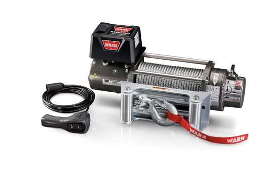 Picture of WARN 8000LB (3600KG) 12V WINCH WITH STEEL CABLE