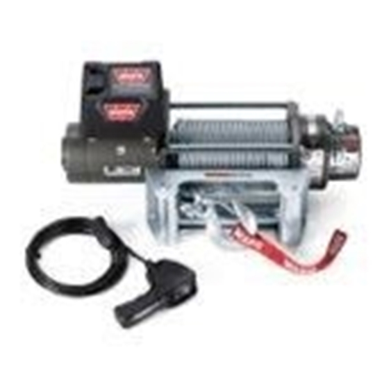 Picture of WARN 9000LB (4100KG) 24V WINCH WITH ST CABLE