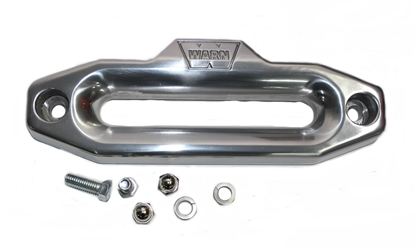 Picture of WARN ACCESSORIES POLISHED ALUMINIUM HAWSE FAIRLEAD