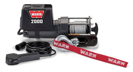 Picture of WARN LIGHT DUTY 1700LB (770KG) 12V INDUSTRIAL WINCH
