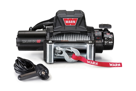 Picture of WARN TABOR 12000LB (5400KG) 12V WINCH WITH ST CABLE