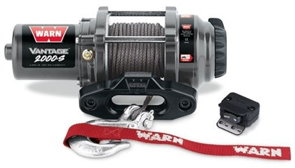 Picture of WARN VANTAGE 2000LB (900KG) 12V ATV WINCH WITH SYN CABLE
