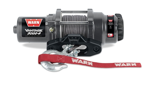 Picture of WARN VANTAGE 3000LB (1300KG) 12V ATV WINCH WITH SYN CABLE