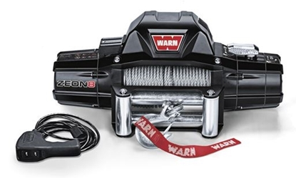 Picture of WARN ZEON 8000LB (3600KG) 12V WINCH WITH ST CABLE