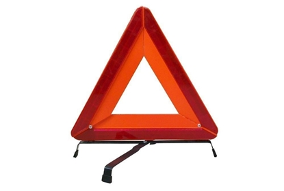 Picture of WARNING TRIANGLES REFLECTIVE RED