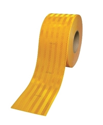 Picture of YELLOW CONSPICUITY TAPE 55MM X 3M