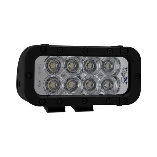 """Picture of 6 """" XMITTER ELITE 8 X 3 WATT LED LIGHT BAR EURO BEAM"""