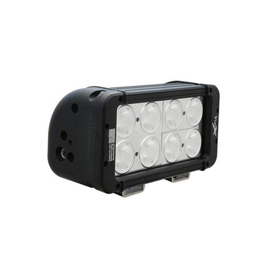 """Picture of 8"""" 8 X 10 WATT DOUBLE STACK LED LIGHT BAR 20 DEGREES"""