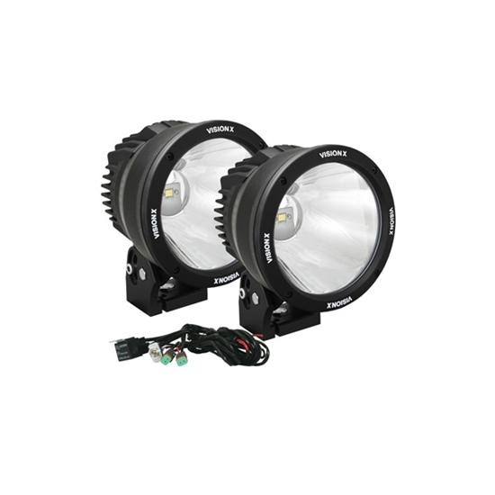 "Picture of CANNON KIT 6.7"" SINGLE LED 10 DEGREES 50 WATT - 2 LIGHTS"