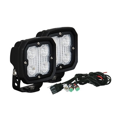 Picture of DURA 4 X 5 WATT LED 10 DEGREE SPOT LIGHT KIT - 2 LIGHTS