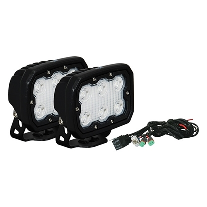 Picture of DURA 6 X 5 WATT LED 10 DEGREE SPOT LIGHT KIT - 2 LIGHTS