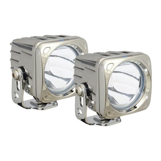 Picture of OPTIMUS CHROME 1 X 10 WATT LED 10 DEGREE - 2 LIGHTS