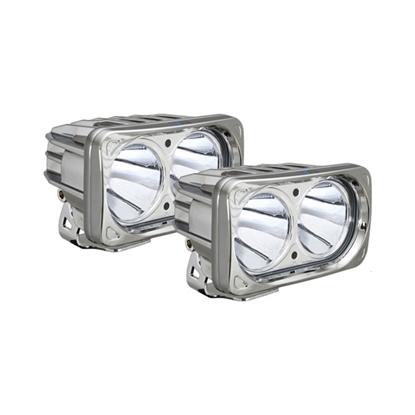 Picture of OPTIMUS DUAL CHROME 2 X 10 WATT LED 10 DEGREE- 2 LIGHTS